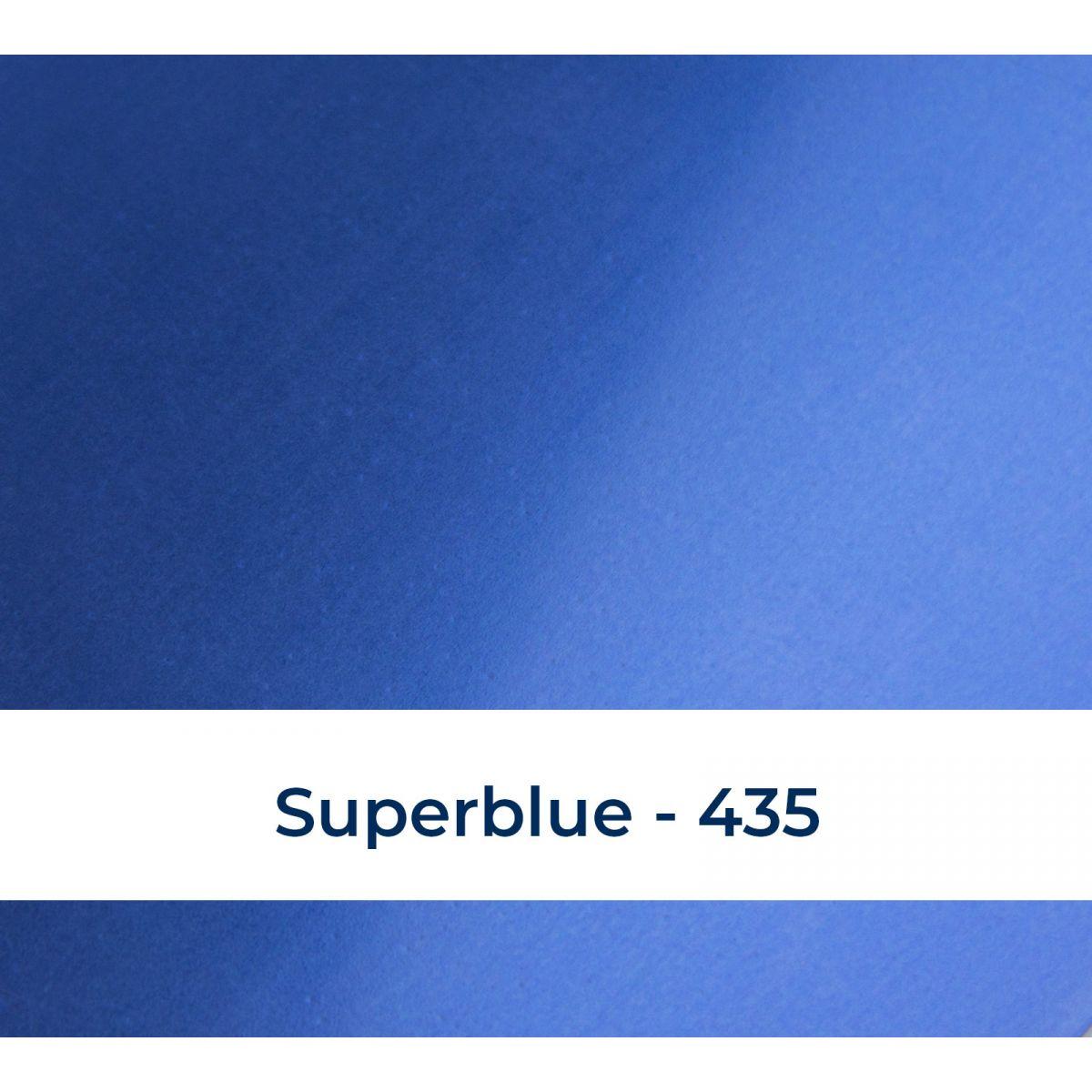 Metallic superblue 435