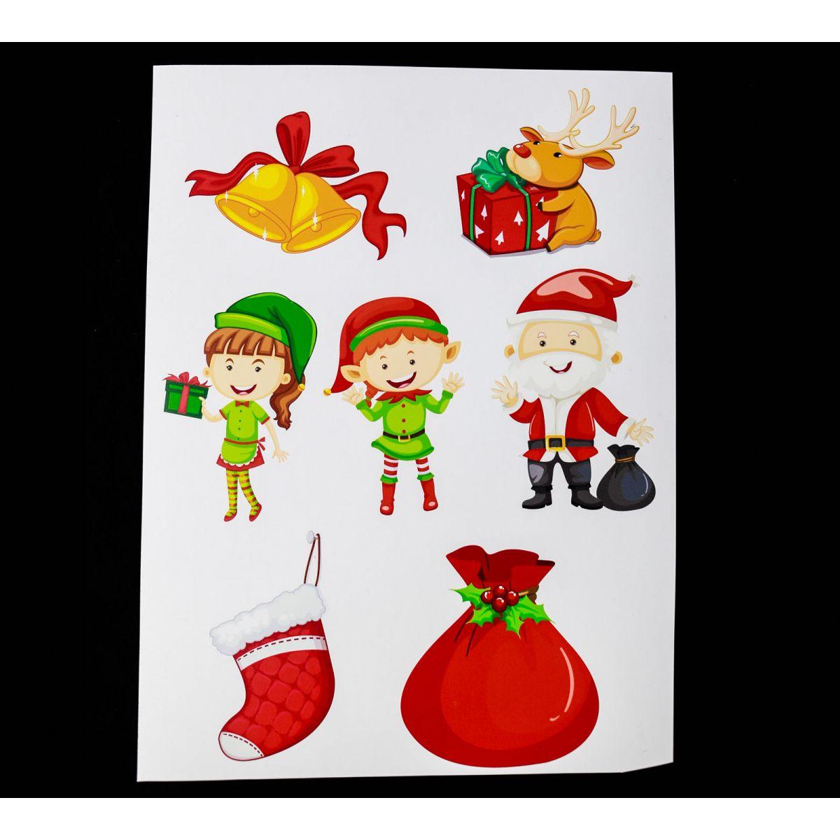 Planche de Noël n°3 Vinyle