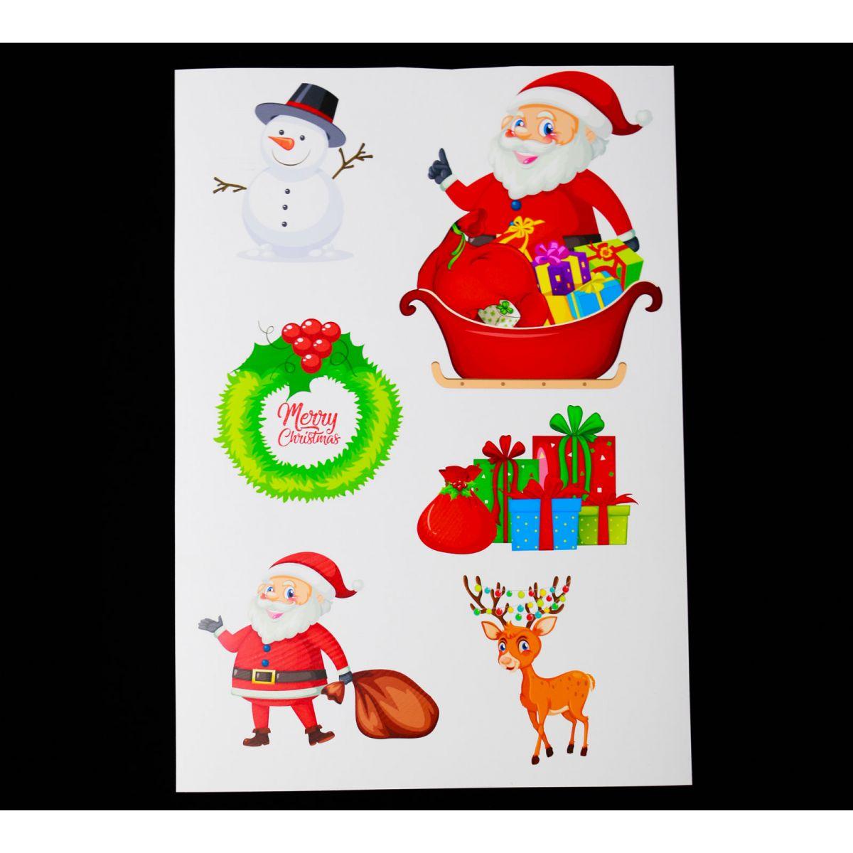 Planche de Noël n°4 Vinyle