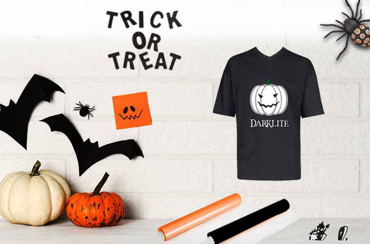 Prepare Halloween with flex and sign vinyl!