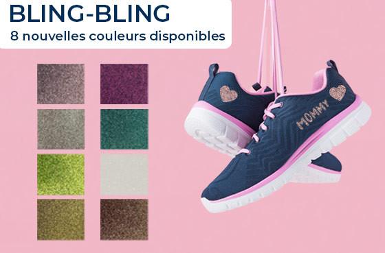 Bling-Bling : 8 nouvelles couleurs disponibles