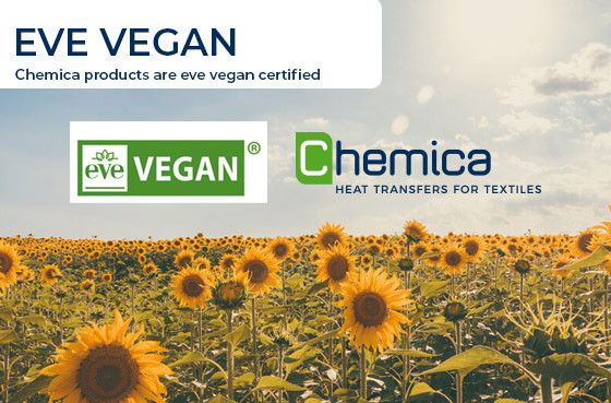 Chemica products are eve vegan certified