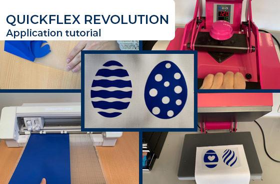 Application tutorial: quickflex revolution