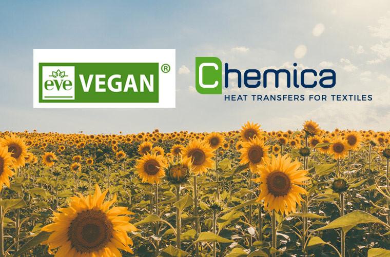 Les produits Chemica sont certifiés EVE Vegan